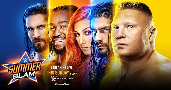 WWE SummerSlam 2019 This Sunday Graphic