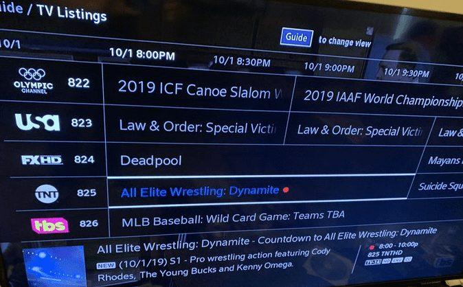 AEW All Elite Wrestling Dynamite