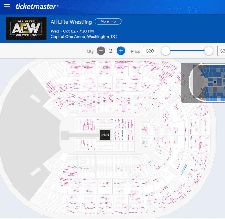 AEW Dynamite Debut Show On TNT Not Sold Out