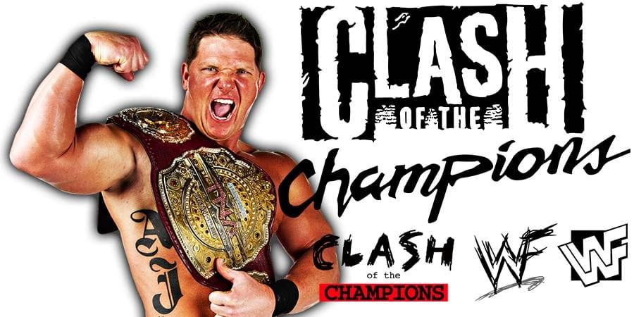 AJ Styles WWE Clash Of Champions 2019