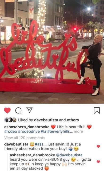 Batista Impressed With Dana Brooke's Buns, Dana Responds
