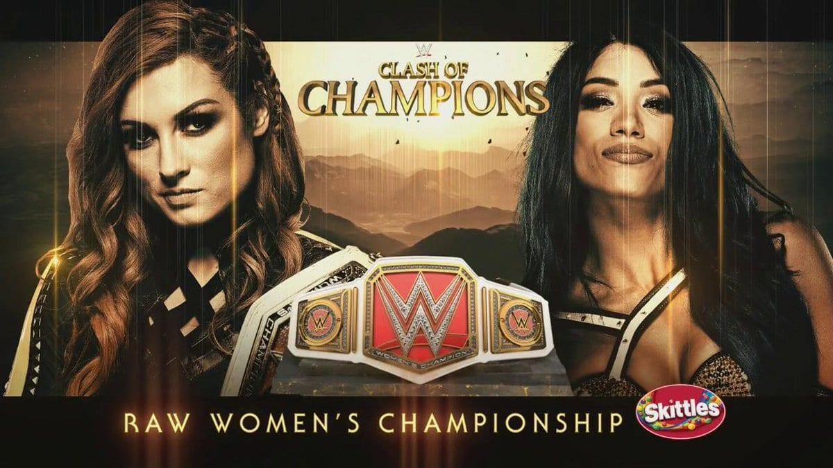 Becky Lynch vs. Sasha Banks - WWE Clash Of Champions 2019 (RAW Women's Championship)