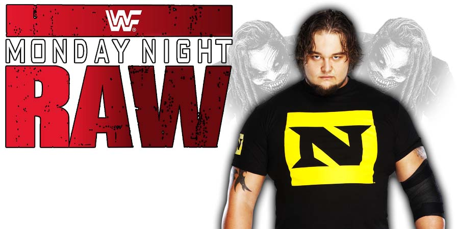 Bray Wyatt The Fiend RAW
