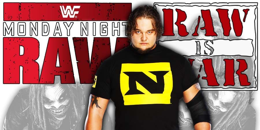 Bray Wyatt The Fiend WWE RAW