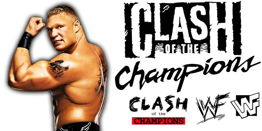 Brock Lesnar WWE Clash Of Champions