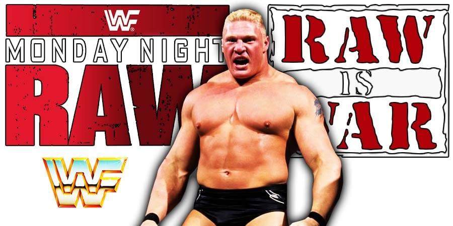 Brock Lesnar WWE WWE RAW