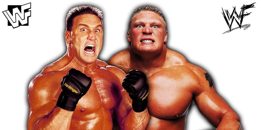 Brock Lesnar vs Ken Shamrock