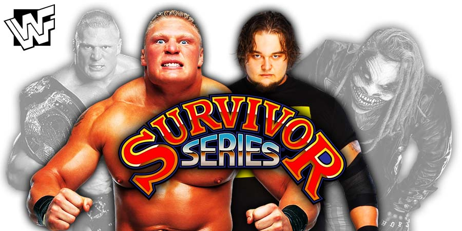 Brock Lesnar vs The Fiend Bray Wyatt - WWE Survivor Series 2019