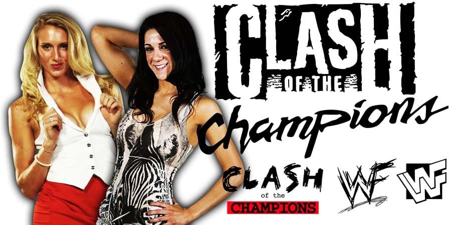 Charlotte Flair Bayley WWE Clash Of Champions 2019