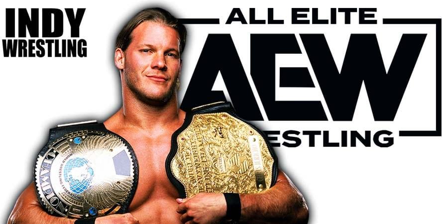 Chris Jericho AEW All Elite Wrestling World Champion