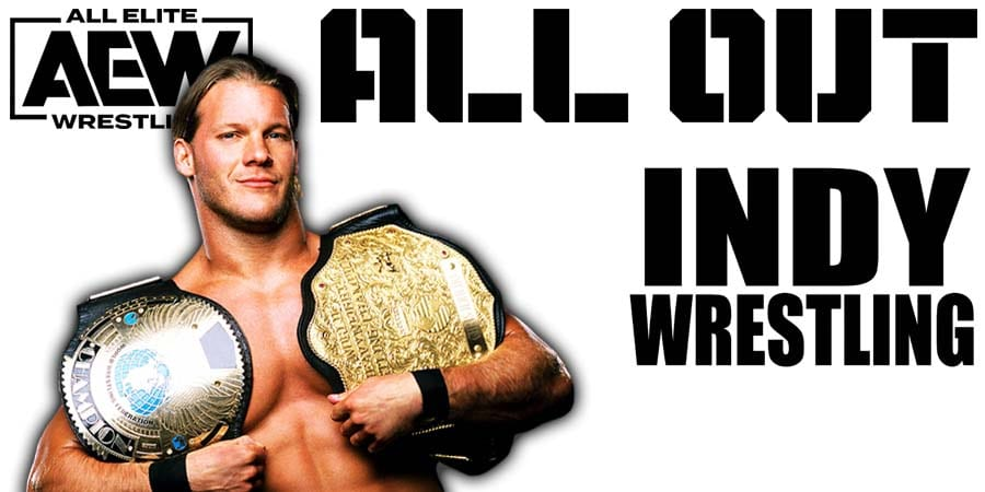 Chris Jericho AEW All Out AEW World Title