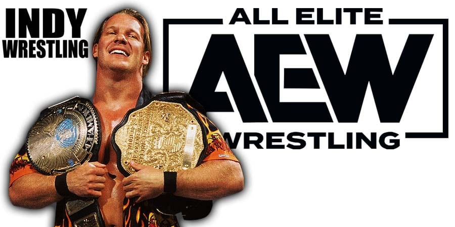 Chris Jericho Undisputed Champion AEW