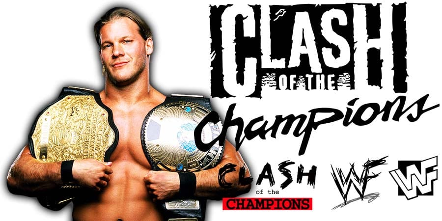Chris Jericho WWE Clash Of Champions 2019