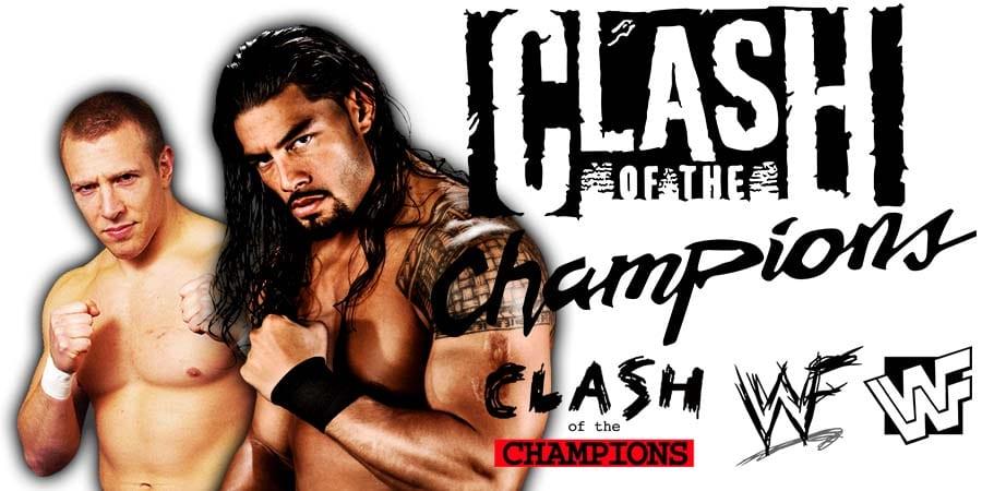 Daniel Bryan Roman Reigns WWE Clash Of Champions 2019