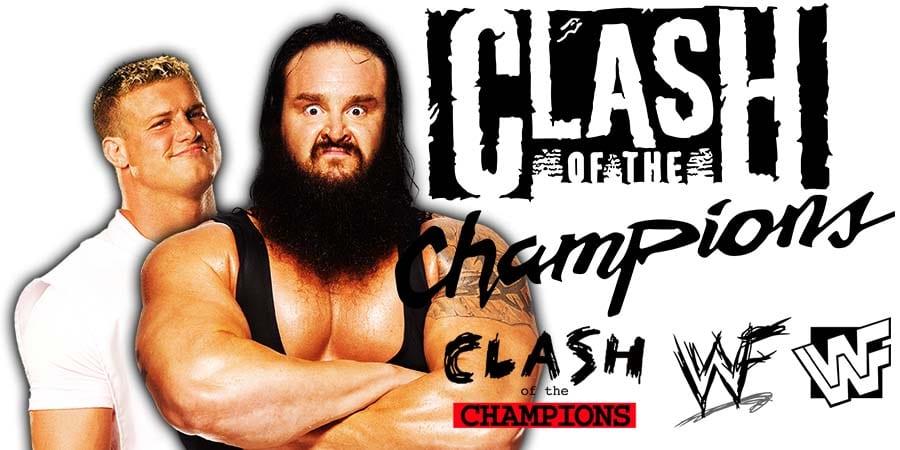 Dolph Ziggler Braun Strowman WWE Clash Of Champions 2019