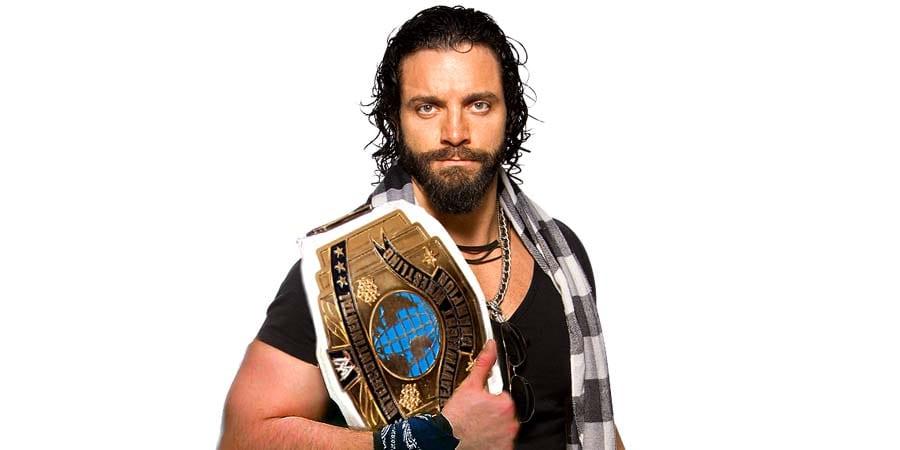 Elias WWE Intercontinental Champion