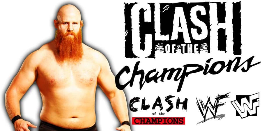Erick Rowan WWE Clash Of Champions 2019