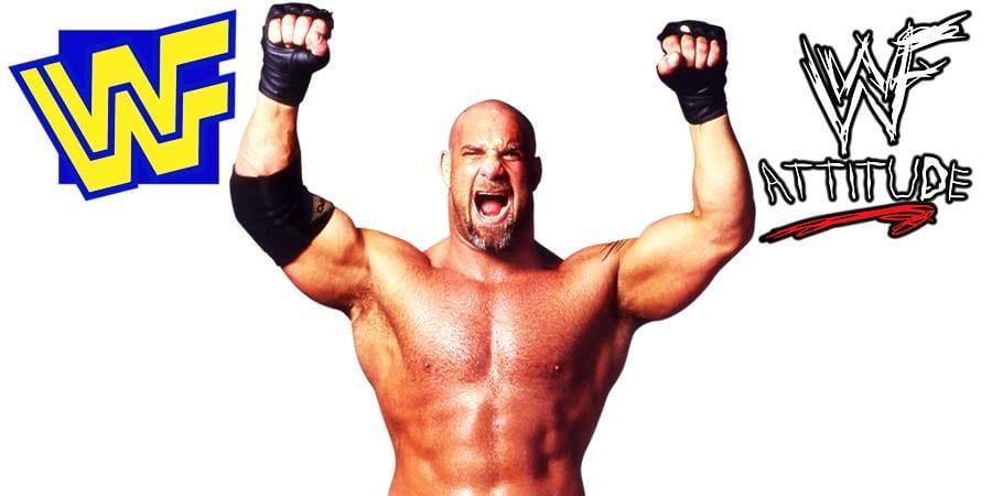 Goldberg WWF WWE WCW