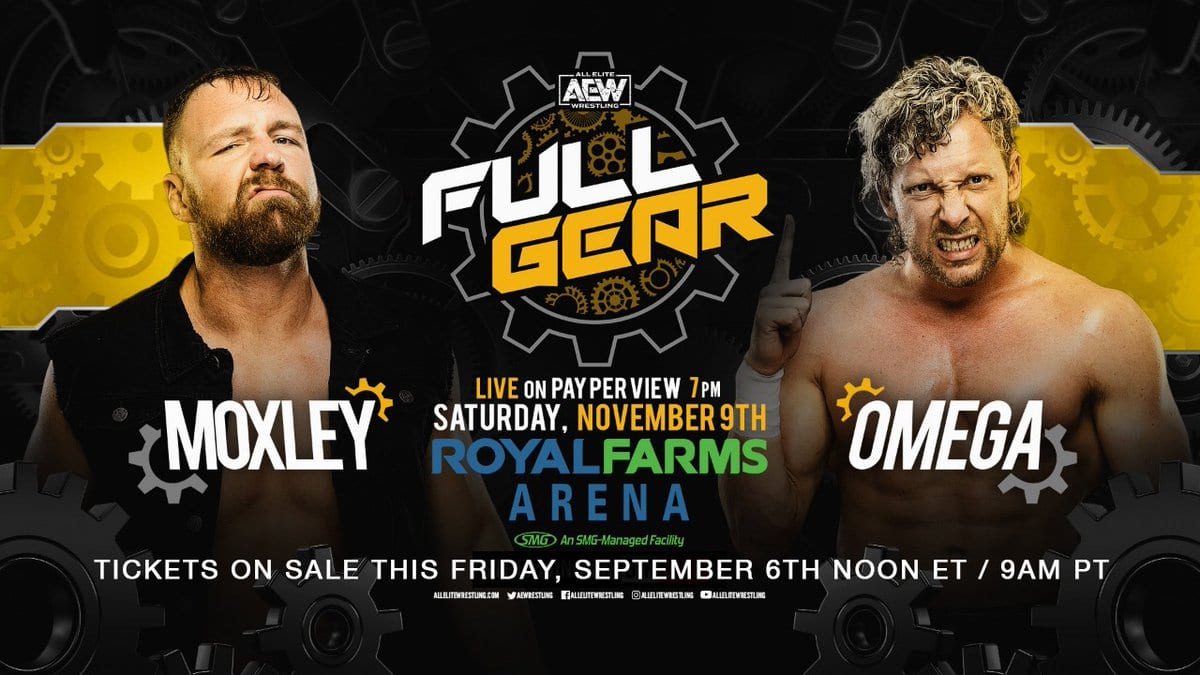 Jon Moxley vs. Kenny Omega - AEW Full Gear