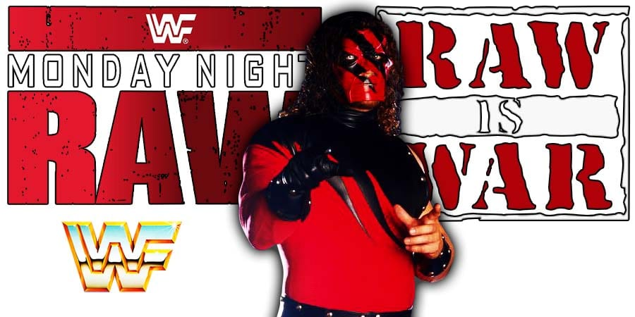 Kane WWF WWE RAW Is War