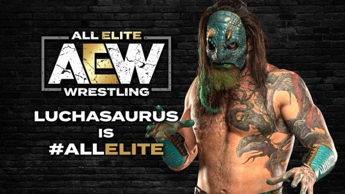 Luchasaurus AEW All Elite Wrestling