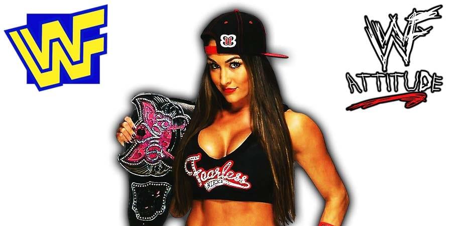 Nikki Bella WWE Divas Champion