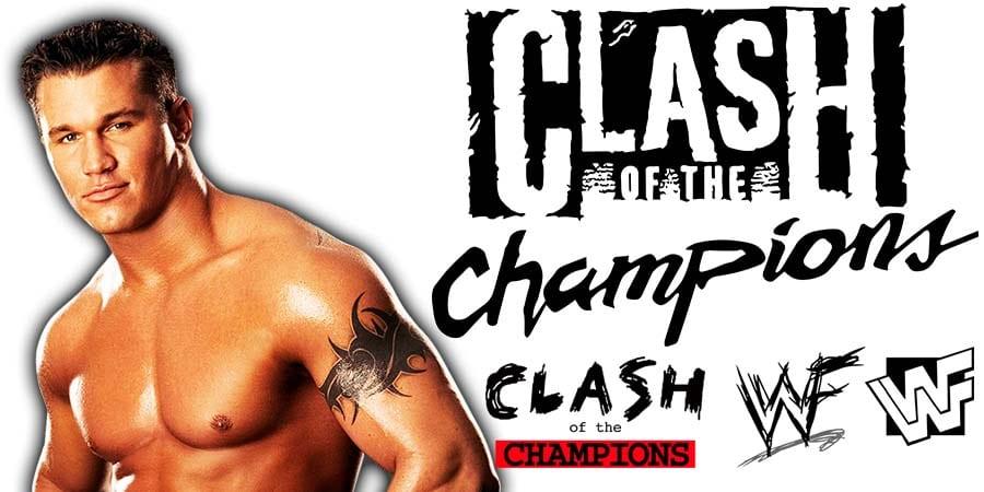 Randy Orton WWE Clash Of Champions 2019