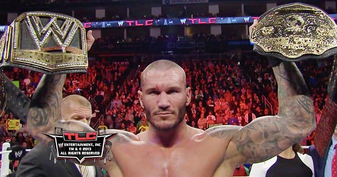 Randy Orton WWE World Heavyweight Champion TLC 2013