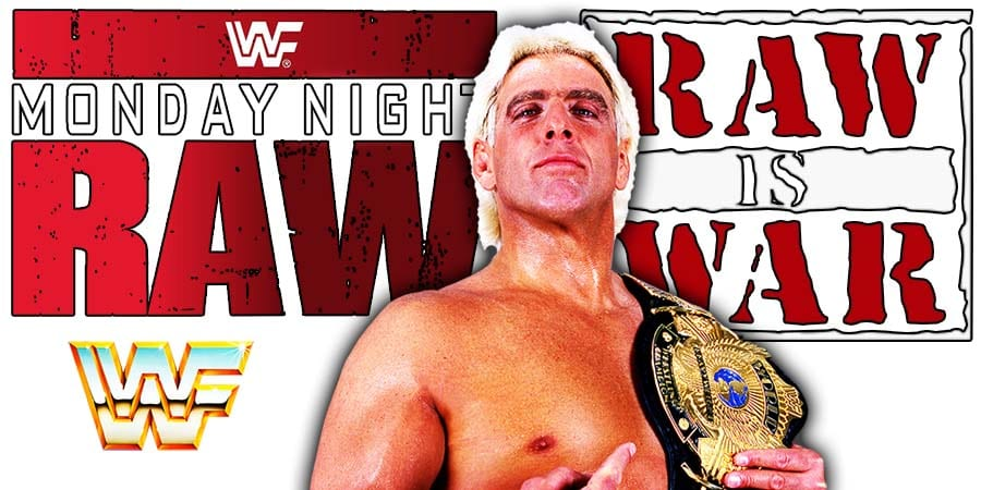 Ric Flair WWF WWE RAW