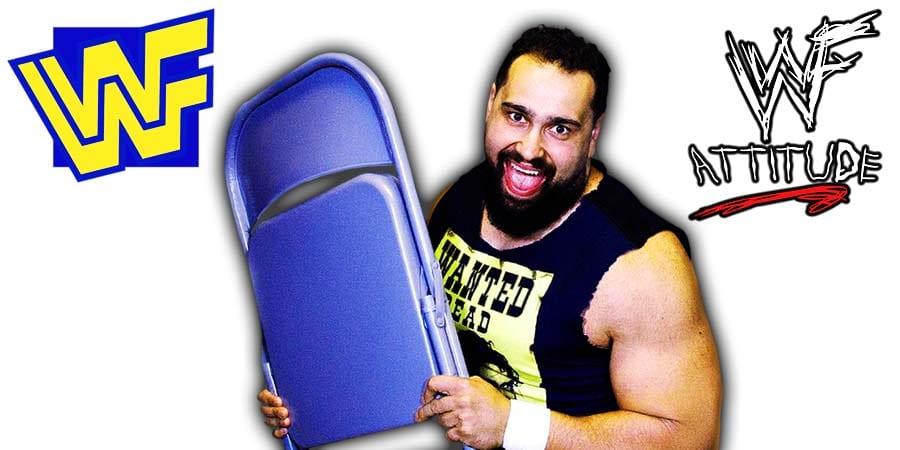 Rusev Steel Chair WWE WWE