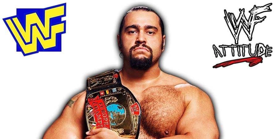 Rusev WWE WWF European Champion