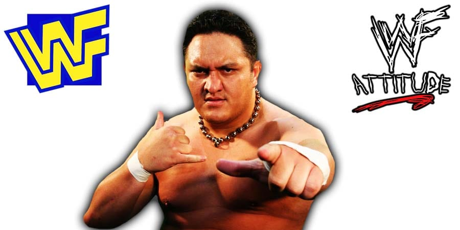 Samoa Joe WWF WWE