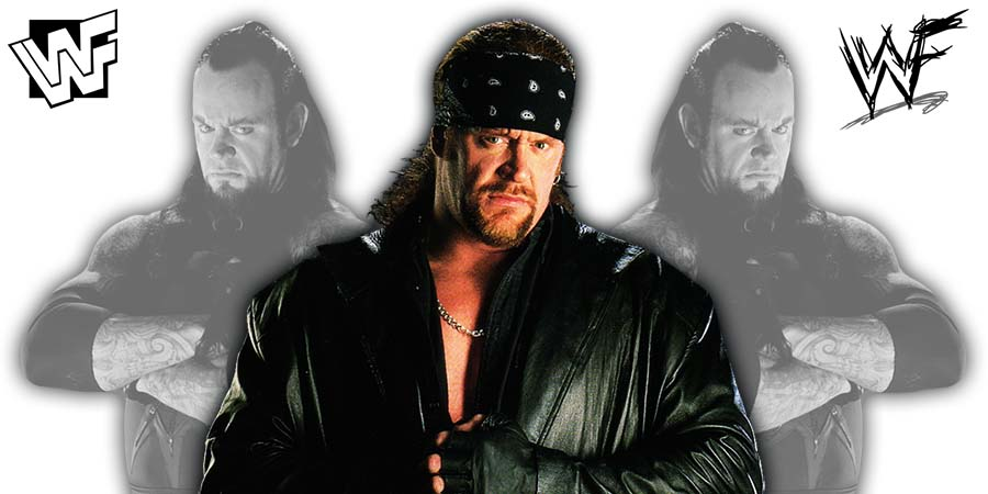 The Undertaker WWF 1999 2000 2001