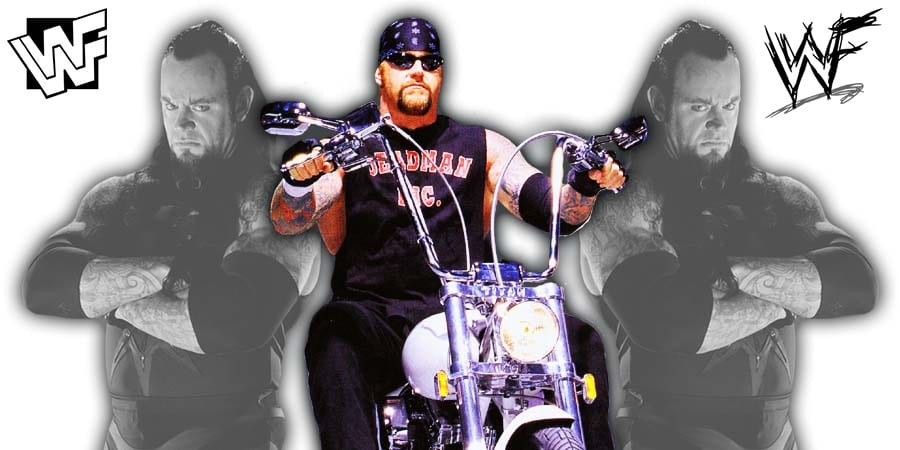 The Undertaker WWF 1999 2000 Ministry Of Darkness Biker