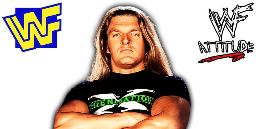 Triple H DX D-Generation X WWF