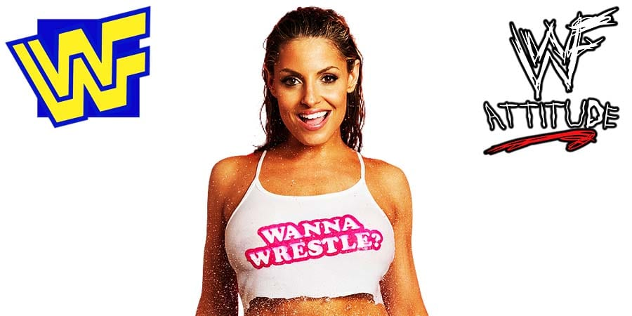 Trish Stratus WWF WWE Wanna Wrestle Top