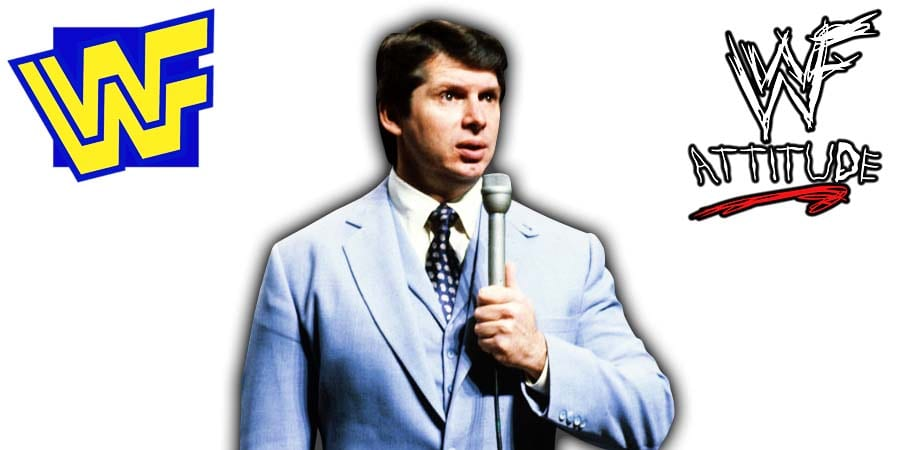 Vince McMahon WWF Announcer Interviewer