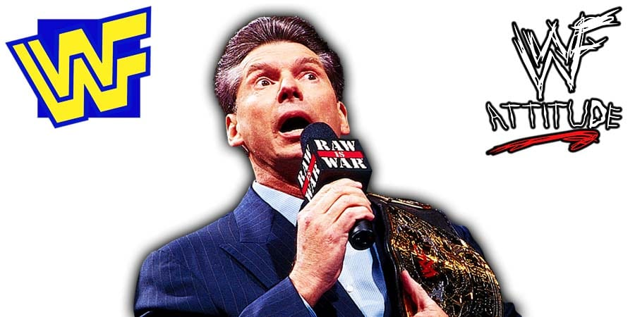 Vince McMahon WWF Champion