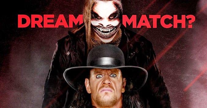 WWE Teases A Mega Match - The Undertaker vs The Fiend (Photo) Wwe Ultimate Warrior Vs Undertaker
