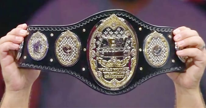 AEW Women's World Championship Title Belt