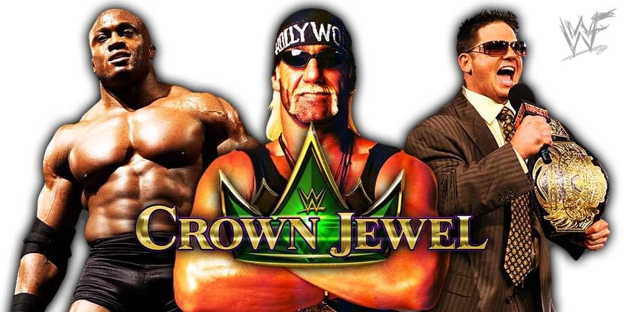 Bobby Lashley Hulk Hogan AJ Styles WWE Crown Jewel 2019