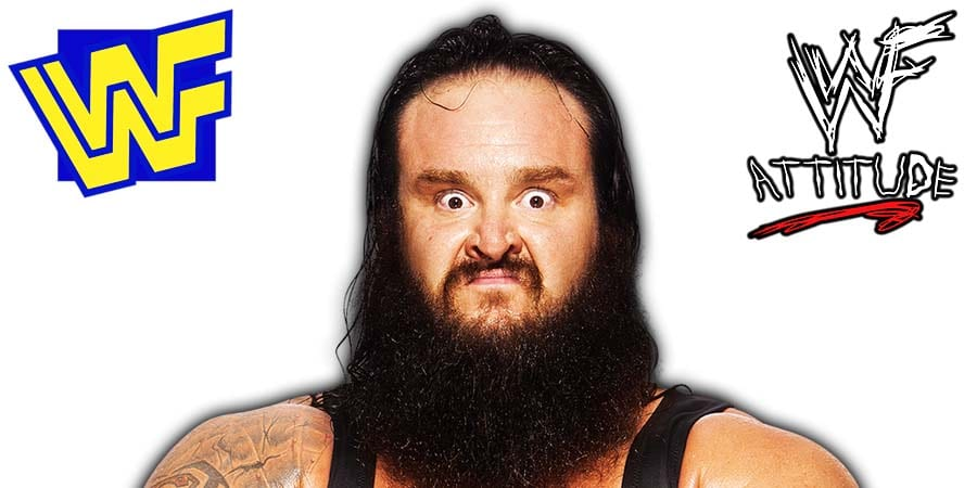 Braun Strowman Beard WWE WWF