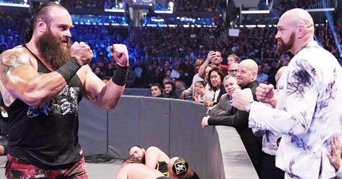 Braun Strowman Tyson Fury WWE SmackDown 2019