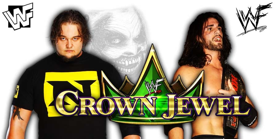 Bray Wyatt The Fiend vs Seth Rollins - WWE Crown Jewel 2019