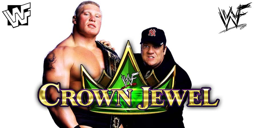 Brock Lesnar Paul Heyman WWE Crown Jewel