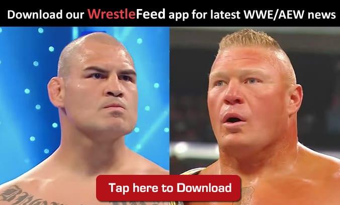 Cain Velasquez Brock Lesnar WrestleFeed App