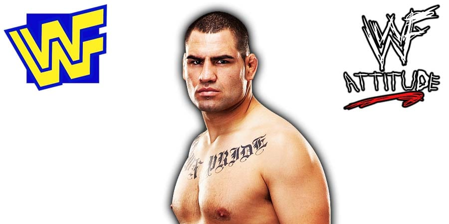 Cain Velasquez WWE World Wrestling Entertainment