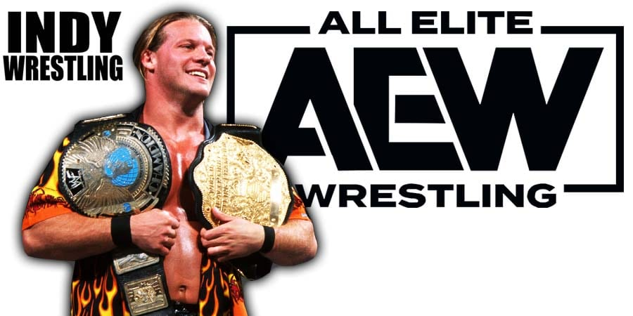 Chris Jericho AEW World Champion Undisputed Champion