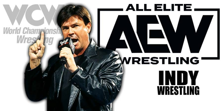 Eric Bischoff All Elite Wrestling AEW Article Pic 1