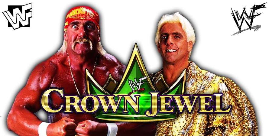 Hulk Hogan Ric Flair WWE Crown Jewel 2019